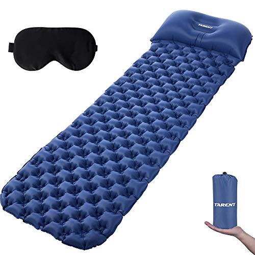 Tarent Isomatte, Luftmatratze Ultraleicht Kleines Packmaß, Campingmatratze und Isomatten, Schlafmatte für Outdoor, Reise, Strand