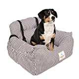 BO&CHAO Autositz für Hunde, Sicherheitssitz für Haustiere, für Jede Art von Auto geeignet, hochwertiger Stoff mit Aufbewahrungstasche, superweiche PP-Baumwolle, bequem und rutschfest