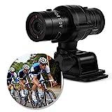 Zunate Mini-F9-Kamera, Full HD 1080 P Wasserdichte Mini Sport DV Kamera Fahrrad Motorrad Helm Action DVR Video Cam Perfekt für Outdoor-Sportarten