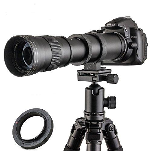 Jintu Teleobjektiv, 420–800mm, Full-Frame, F/8.3–16,manueller Zoom, für Canon EOS EF Digital DSLR
