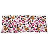 Dinkelkissen 50x20cm WALD PINK ; Wärme + Kältetherapie ; Körnerkissen