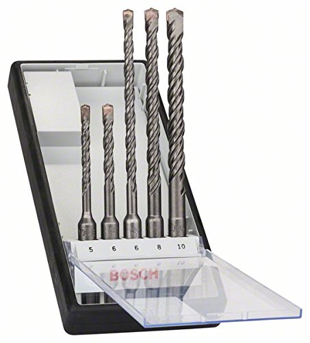 Bosch Pro 5tlg. Hammerbohrer-Set SDS-Plus-5