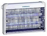 GRUNDIG Insektenvernichter elektrisch mit UV-Licht 2W | für Räume bis 20m² | LED Röhren | Wandmontage - Freistehend - Hängend| mit herausnehmbarem Fach | schnell & effizient gegen Mücken, Fliegen, Motten und andere fliegende Insekten