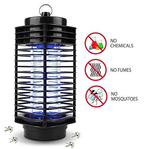 iweed Moskitolampe Insektenvernichter Elektrische Mosquito Killer Lampe Mückenfalle Insektenfalle Mückenlicht Mückenfalle Insektenlampe Motte Fliegen Insekt Lichtfalle