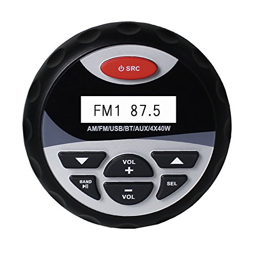 Wasserdicht Marine Bluetooth Motorrad Stereo Audio Boot Radio RV Auto MP3 Player RZR Golf Cart Receiver UTV Sound System
