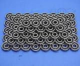 100 Stück 608 2RS Kugellager (8x22x7 mm) DIN 625