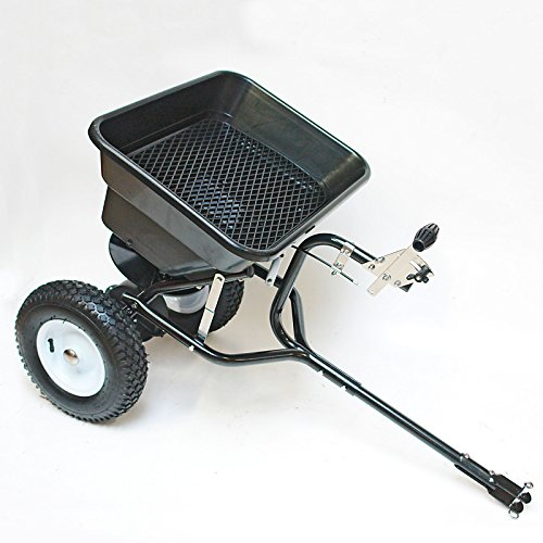 DEMA Streuwagen 45l / 36 kg mit Anhängerkupplung