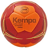 Kempa Spectrum Synergy Primo Ball Handball, Fluo orange/deep rot, 2