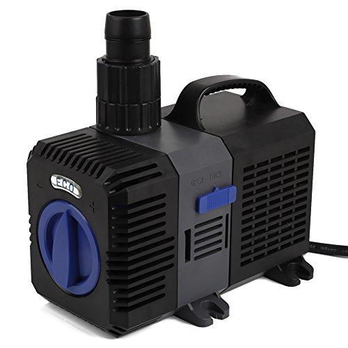 SPEED Super ECO Teichpumpe Filterpumpe Energiespar Wasserpumpe Koiteich Bachlaufpumpe (3000-12000L/H)3000L/H