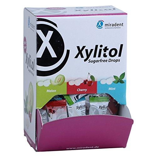 Miradent Xylit-Bonbons - Schüttbox (100 Stück)