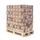 PALIGO Holzbriketts Ruf Laubholz Buche Birke Erle Kamin Ofen Brenn Holz Heiz Brikett 10kg x 96 Gebinde 960kg / 1 Palette Heizfuxx