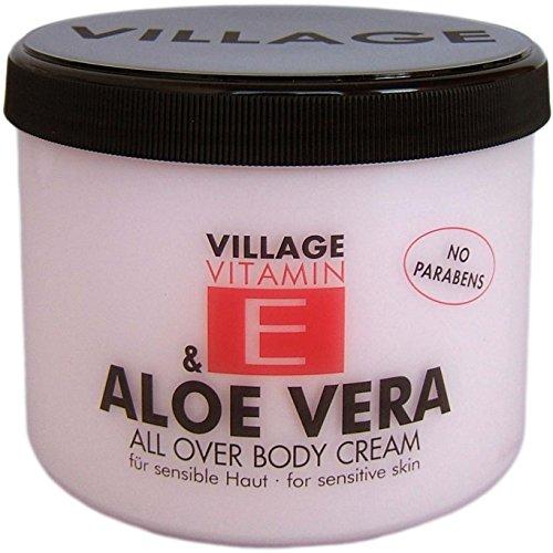 Village 9506-01 Aloe Vera Body Cream 500ml mit Vitamin E