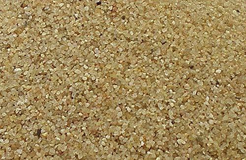 25 kg Aquariumsand Aquariumkies natur beige gerundet und feuergetrocknet (0,4 - 0,8mm)
