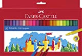 Faber-Castell 554250 Filzstifte, verschiedene Farben, 50 Stück