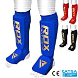 RDX Schienbeinschoner Boxen MMA Schienbeinschutz Kampfsport Kickboxen Schienbein Schienbeinschützer Beinschützer(CE Bescheinigt Genehmigt Durch SATRA) (MEHRWEG)