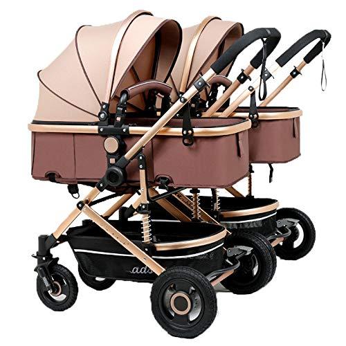 Defect Der abnehmbare, Faltbare Kinderwagen für Zwillingskinderwagen kann auf dem zweiten Kind sitzen, das EIN doppeltes Kind trägt