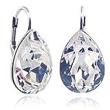 Ohrringe mit Kristallen von Swarovski Silber Ohrhänger NOBEL SCHMUCK