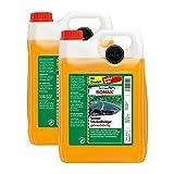2x SONAX 02605000 ScheibenReiniger gebrauchsfertig Citrus Konzentrat 5L