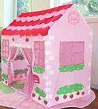 Allkindathings 1213Mädchen Kinder Pink Princess Play Wendy House Outdoor Garten Zelt Kinder Spielzeug