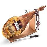 Serrano Schinken Set mit Schinkenhalter und Messer