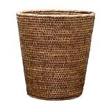 Basket Papierkorb - Rattan braun - ø 30 cm