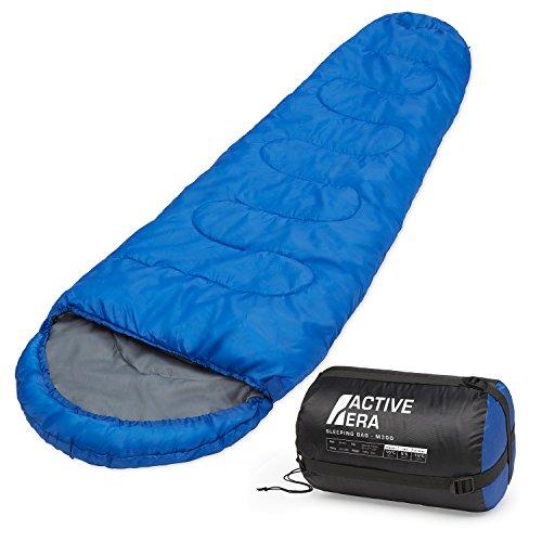 Professional 300 Mumien-Schlafsack für 3 - 4Saisons für Camping, Wandern, Aktivitäten im Freien