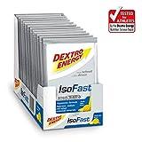 Getränkepulver Sport von Dextro Energy IsoFast | 12 Sachets mit Fruit Mix Geschmack | Hypotonisches Getränke Pulver mit Elektrolyte