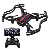 AKASO A21 Drohne mit Kamera, Mini Quadcopter mit 720P HD FPV WiFi RC Drohne Helikopter für Kinder Anfänger Erwachsene, EIN-Tasten-Start/Landung, Optisches Höhehalten
