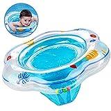 Baby Schwimmring, aufblasbare Kleinkind Schwimmring Pool Schwimmen Float mit Schwimmsitz für Kinder Planschbecken, Baby Schwimmring mit PVC für Kleinkind Schwimmhilfe Spielzeug 6 Monate bis 36 Monate