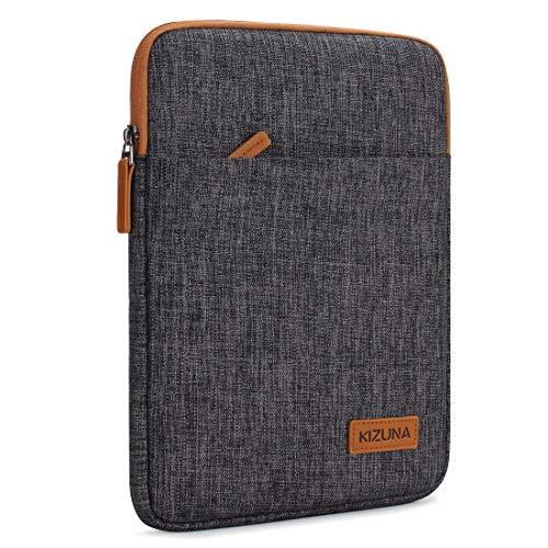 KIZUNA iPad Pro 10.5 Hülle 10-10.1 Zoll Tablet PC Tasche Sleeve Case Laptop Bag Etui Für 11' iPad Pro/9.7' iPad 2017/10' Microsoft Surface Go/10.8' Huawei MediaPad/Samsung Galaxy Tab S4, Braun
