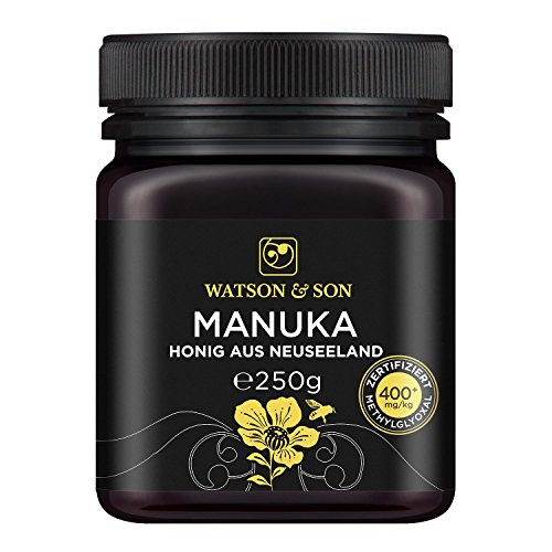 Watson & Son Manuka-Honig MGO 400+, 1er Pack (1 x 250 g)