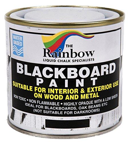 Tafelfarbe für Kreidetafel, Schwarz, 250ml