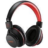 Mpow Bluetooth 4,1 Kopfhörer Over Ear, Over Ear Headset mit Aptx & Dual 40mm Treiber, 20 Stunden Spielzeit, perfekt Bass, leichtem Rückstellschaum Ohrpolster, 3,5mm AUX