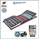 Ravensberger Matratzen Meditec Lattenrost | 5-Zonen-TPEE-Teller-Systemrahmen | Schichtholzrahmen| Elektrisch| MADE IN GERMANY - 10 JAHRE GARANTIE | TÜV/GS 90 x 200 cm