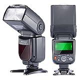 Neewer NW-670 TTL Flash Blitz Blitzgerät mit LCD-Anzeige für Canon 7D Marke II,5D Marke II III,IV,1300D,1200D,1100D,750D,700D,650D,600D,550D,500D,100D,80D,70D,60D und alle anderen Canon DSLR-Kameras