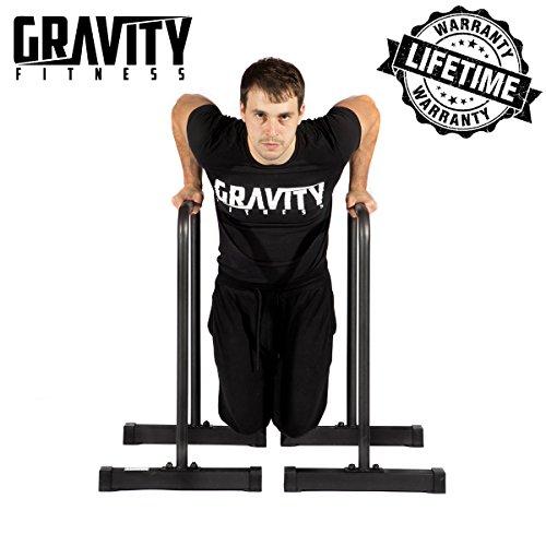 Gravity Fitness Dip-Barren, Parallettes, für Crossfit, Freiübungen etc.