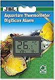 JBL 6122100 Aquarium Thermometer DigiScan Alarm, grau
