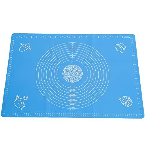 Seifenprofis Rollmatte Backmatte XXL 65 x 45 cm (Blau/Rosa) aus Silikon