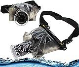 Navitech schwarze wasserdichte Unterwassergehäuse Kasten / Beutel-trockener Beutel für dasSony Alpha A6500