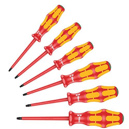 Wera 167 i/6 Schraubendrehersatz Kraftform Plus Serie 100, 6-teilig, 05133356001