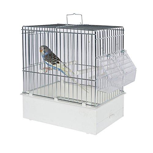 Pet Ting Vogel Transport Käfig XL–Vogel Travel Käfig–Finch–Kanarienvögel, Wellensittiche etc.