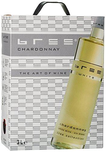 Bree Chardonnay Weißwein Halbtrocken (1 x 3 l)
