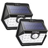 Mpow ERNEUTE Solarlampen Für Außen 120 ° Weitwinkel Solarleuchte Außen IP65 Wasserdicht Sensorkopf 20 LED Solarleuchte mit Bewegungsmelder