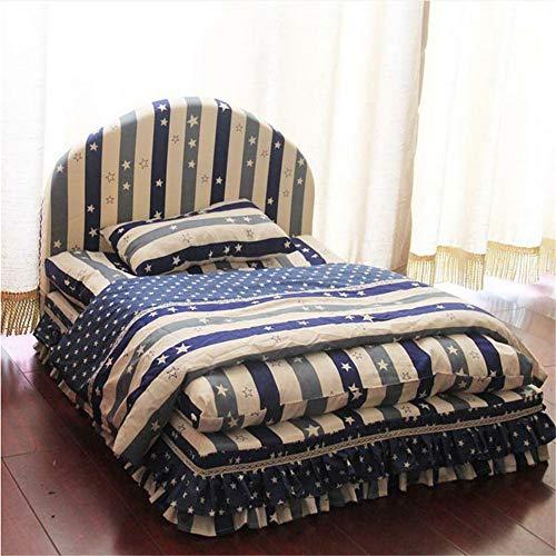 Wuwenw Marke Hohe Qualität Luxus Edle Prinzessin Pet Bett Hundebett Katze Matte Sofa Hund Haus Hund Nest Schlaf Kissen Zwinger, Blau, S