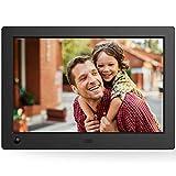 NIX Advance - 17.3 Zoll Widescreen Digitaler Bilderrahmen für Fotos und HD-Video (720p) mit Bewegungs-Sensor, für SD und USB, schwarz - X17B