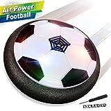 Air Power Fußball - Baztoy Hover Power Ball Indoor Fußball mit LED Beleuchtung, Perfekt zum Spielen in Innenräumen ohne Möbel oder Wände zu beschädigen