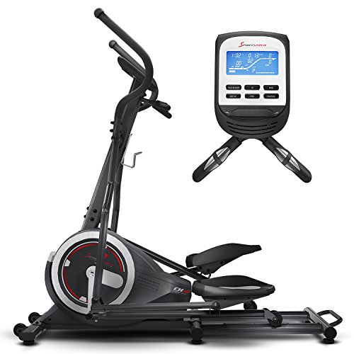 Sportstech Crosstrainer CX640 Ellipsentrainer, 24KG Schwungmasse, App kompatibel