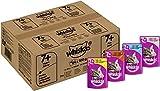 Whiskas Katzenfutter 7+ für Katzen ab 7 Jahren und älter, 84 Portionsbeutel (84 x 100 g)