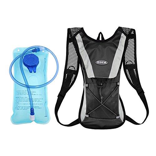 Topfire Trinkblase Trinkrucksack, Hydration Pack Trinkbeutel 2L Radfahren/Wandern/Klettern