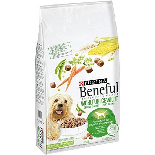 Beneful Purina Hundetrockenfutter Wohlfühlgewicht (mit Huhn, Gartengemüse und Vitaminen) 12kg Sack